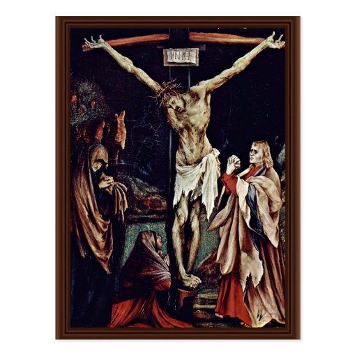 Una pequeña crucifixión: Cristo en la cruz, mag de Tarjeta Postal