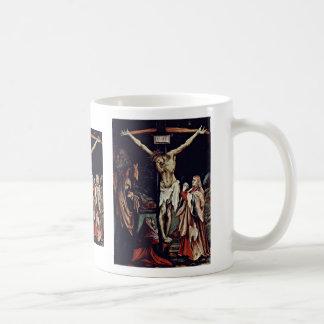 Una pequeña crucifixión: Cristo en la cruz, mag de Taza