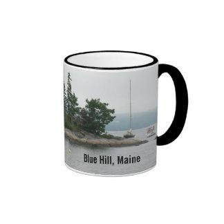 Una pequeña isla minúscula, taza