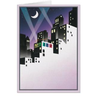 Una pequeña música de la noche tarjeta de felicitación