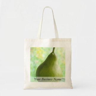 Una pera orgánica fresca bolsa de mano