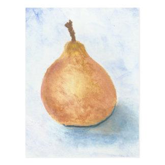 Una pera quebradiza de Bosc Tarjetas Postales