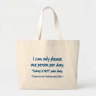 Una persona por día bolsa