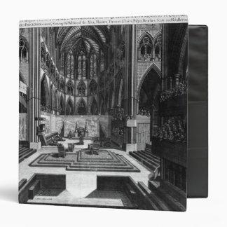 Una perspectiva de la iglesia colegial del interio