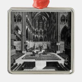 Una perspectiva de la iglesia colegial del interio ornamentos de reyes