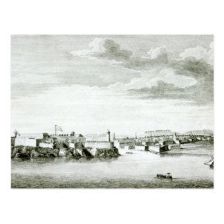 Una perspectiva del castillo de Moro y de la Postal
