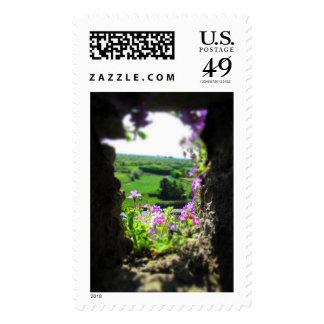 Una perspectiva florida sellos