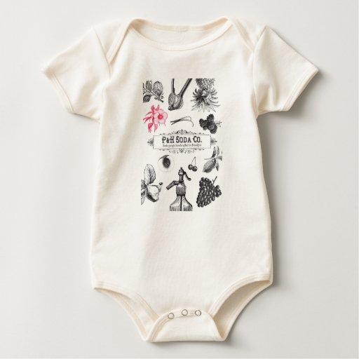 Una pieza del niño del Co. de la soda de P&H Body Para Bebé