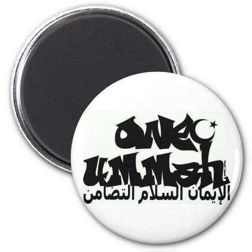 Una pintada de Ummah Iman De Nevera