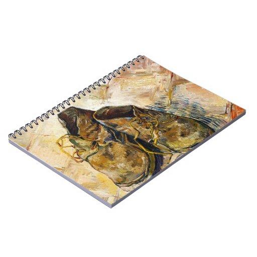 Una pintura de la bella arte de Vincent van Gogh d Cuadernos