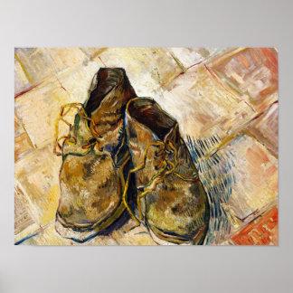 Una pintura de la bella arte de Vincent van Gogh d Póster