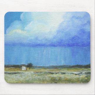 Una pintura de paisaje perfecta del arte abstracto tapete de ratón