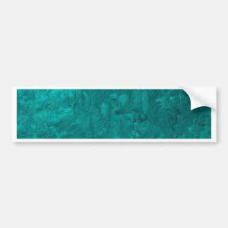 una pintura del color aguamarina pegatina de parachoque