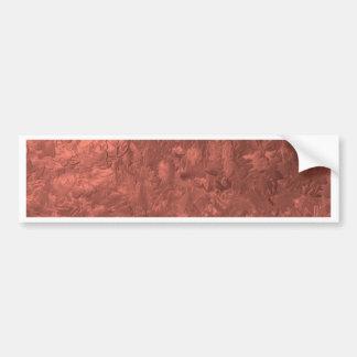 una pintura del color, bronce pegatina de parachoque