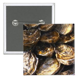 Una placa de ostras pin