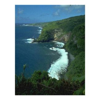 """Una playa de la montaña folleto 8.5"""" x 11"""""""