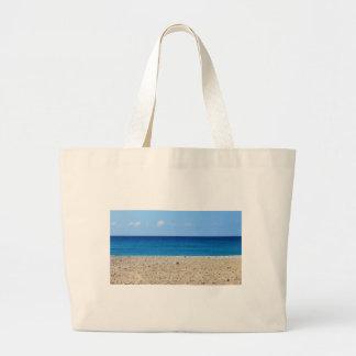 Una playa perfecta bolsa de mano