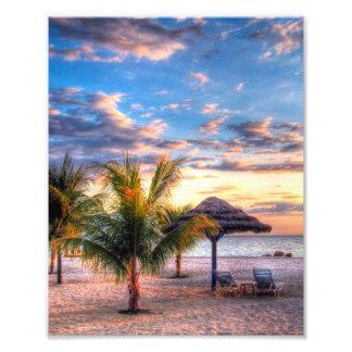 Una playa perfecta cojinete