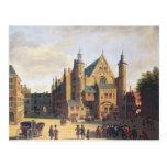 Una plaza en Haarlem Tarjeta Postal