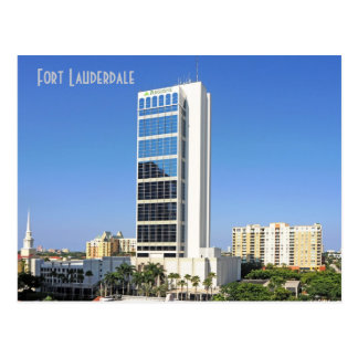 Una plaza financiera, Fort Lauderdale, la Florida, Tarjeta Postal