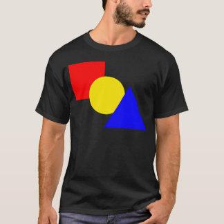 Una Plaza Roja, un círculo amarillo, y un Playera