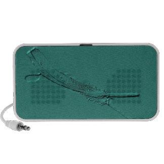 ¡UNA PLUMA SIMPLE! iPod ALTAVOCES