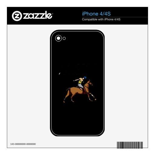 Una poca acción del oscilación skins para iPhone 4S