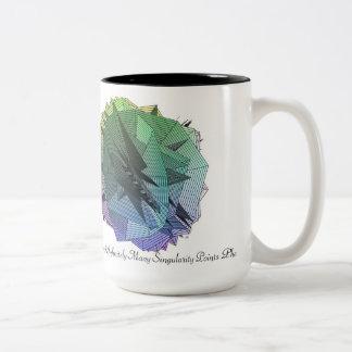 Una poca cardinalidad infinitamente de muchos… taza de café de dos colores