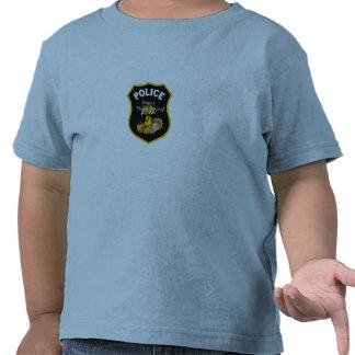 Una policía de la acción de gracias camisetas