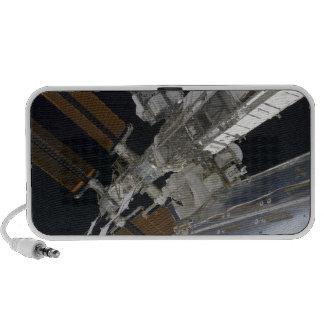Una porción de la estación espacial internacional altavoces