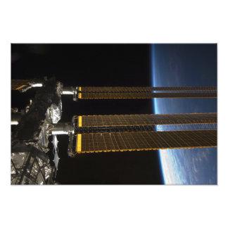 Una porción de la estación espacial internacional cojinete