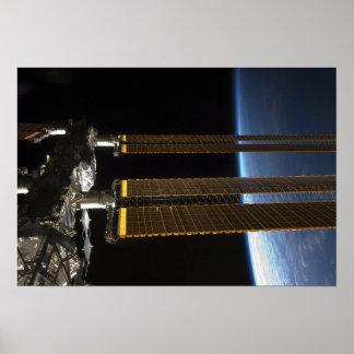 Una porción de la estación espacial internacional impresiones
