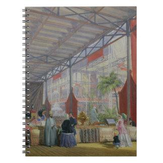 Una porción del Transept de la gran exposición Cuadernos