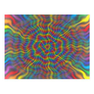 Una postal atómica del arco iris