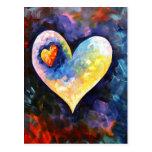 Una postal ausente del latido del corazón