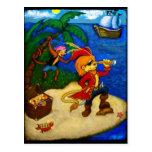 Una postal de la vida del pirata