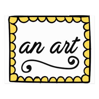 Una postal del arte