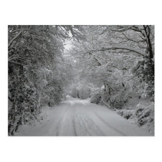 Una postal del día de inviernos