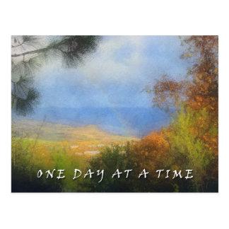 Una postal del valle del arco iris del día a la ve