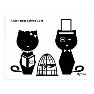 Una postal fría servida mejor del plato