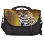 Una postura del leopardo bolsa de ordenador