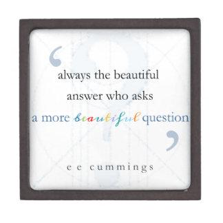 Una pregunta más hermosa cajas de joyas de calidad