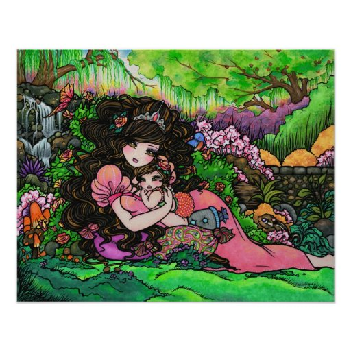 """""""Una princesa es"""" arte nacido Hannah Lynn del bebé Impresiones"""