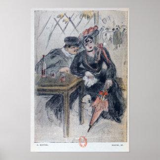 Una prostituta y su cliente poster