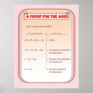 Una prueba para las edades póster