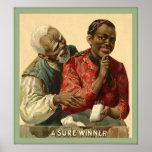 Una publicidad segura 1895 del vintage del ~ del ~ poster