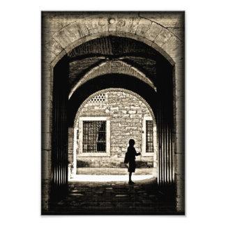 Una puerta a esperar fotografías