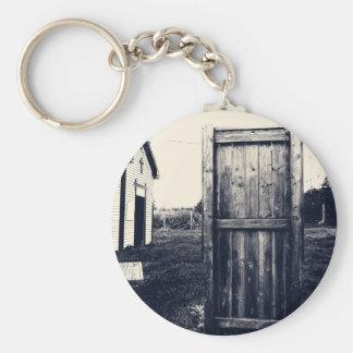 Una puerta al pasado llavero redondo tipo pin