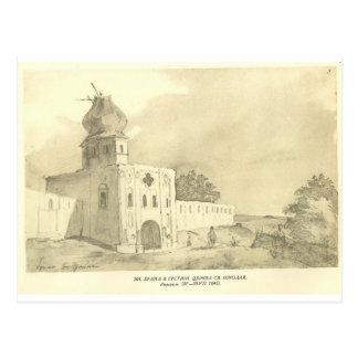 Una puerta en Gustynia. Iglesia de San Nicolás Postales