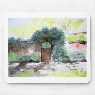 Una puerta - estado de la casa de Englis, Ann Arbo Tapete De Ratones